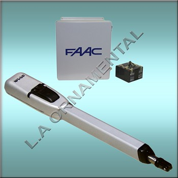 "FAAC 415 Basic Gate Operator Kit - Includes Operator, 455D Control Panel, 14""X16"" Pre-Wired Enclosure"