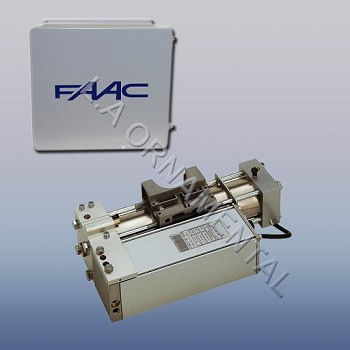 "FAAC 760 Standard Basic Double Gate Operator Kit 230Vncludes Operator, w/ 455D Control Panel, 14""x16"" Pre-wired Enclosure and load bearing box"